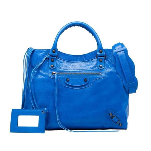 decb0ac2f4b0 Balenciaga Handbags - S S 2015 Balenciaga Classic Velo Bleu Lazuli
